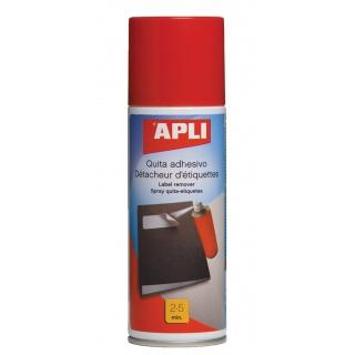 Spray do usuwania etykiet APLI, 200ml, Środki czyszczące, Akcesoria komputerowe