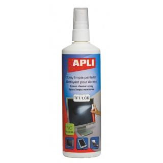 Spray do czyszczenia ekranów TFT/LCD APLI, 250ml, Środki czyszczące, Akcesoria komputerowe