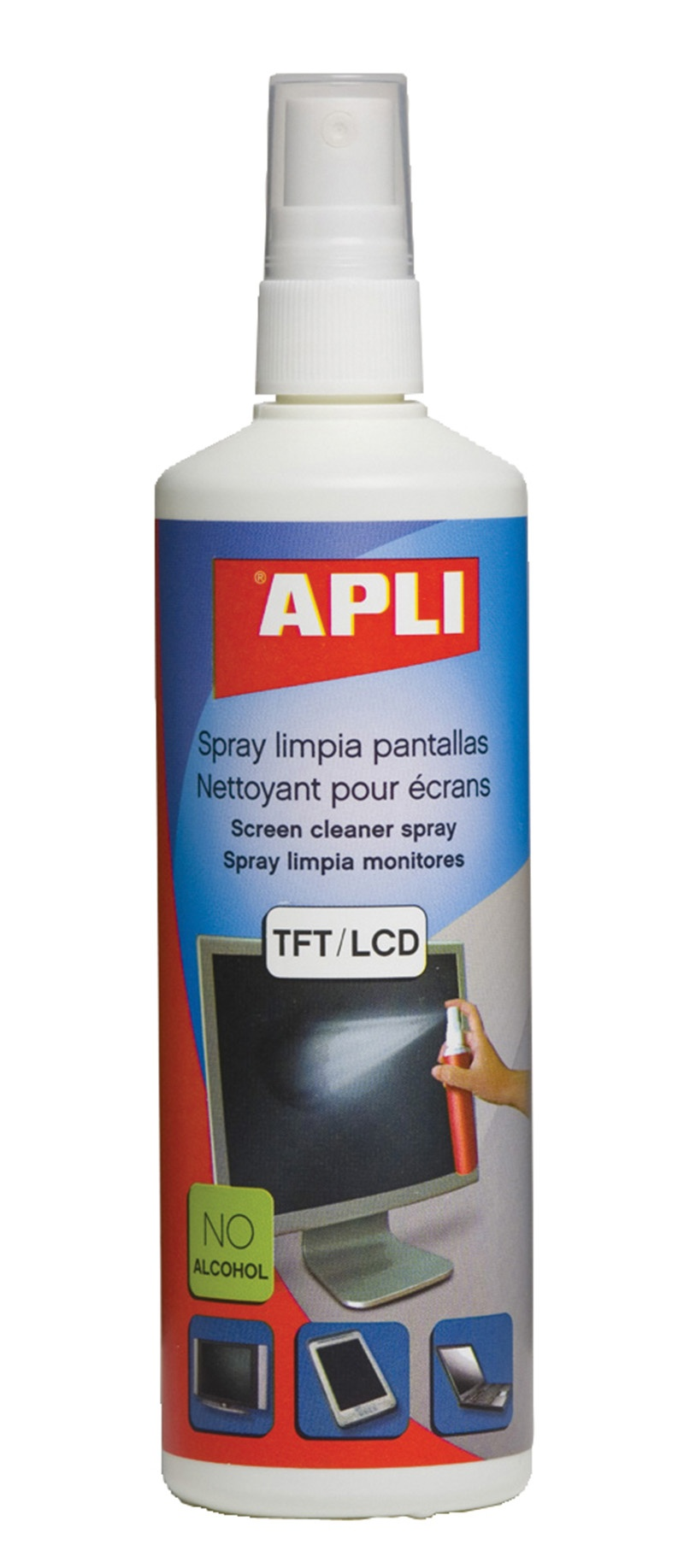 Screen Cleaner Spray TFT/LCD APLI, 250ml