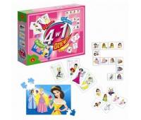 4 w 1 - Dziewczyny, Gry, Zabawki