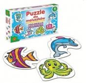 Puzzle dla Maluszków - Podwodne Zwierzątka, Puzzle, Zabawki