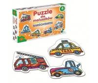 Puzzle dla Maluszków - Samochodziki, Puzzle, Zabawki