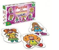 Puzzle dla Maluszków - Lalki, Puzzle, Zabawki