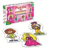 Puzzle dla Maluszków - Dziewczynki, Puzzle, Zabawki