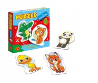 Puzzle dla Maluszków - Zwierząta 1, Puzzle, Zabawki