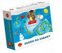 Sowa Mądra Głowa - Głoski do Zabawy, Gry, Zabawki