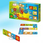 Domino Obrazkowe - Zwierzęta Domowe, Gry, Zabawki