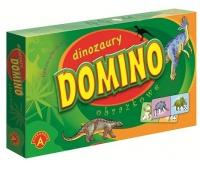 Domino Obrazkowe - Dinozaury, Gry, Zabawki