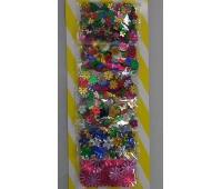 APLIKACJE DEKORACYJNE MIX 6x5g 0194, Dekoracje, Artykuły dekoracyjne