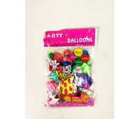 BALONY METALIZOWANE 10 /12szt/ LP0804, Balony, Artykuły dekoracyjne