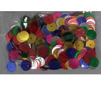 KONFETTI 14g OKRĘGI 10mm 0202, Party, Artykuły dekoracyjne