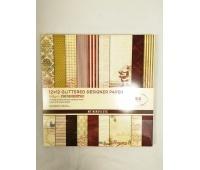 PAPIER 30,5x30,5 54 kartki, Papier ozdobny, Papier i etykiety