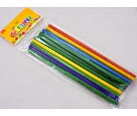 PATYCZKI OKRĄGŁE KOLOR LE12-08, Produkty kreatywne, Artykuły szkolne