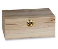 PUDEŁKO NA HERBATĘ PEŁNE 29x15x7,9cm, Drewno, Artykuły dekoracyjne