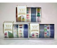 TAŚMA OZDOBNA 10m /5szt/ LP0604, Produkty kreatywne, Artykuły dekoracyjne