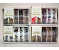 TAŚMA OZDOBNA 10m /5szt/ LP0605, Produkty kreatywne, Artykuły dekoracyjne
