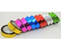 TAŚMA OZDOBNA SAMOP. 1,2cm/20m 12szt LB12-4, Produkty kreatywne, Artykuły dekoracyjne