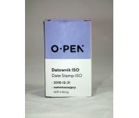 DATOWNIK ISO 12/288, Pieczątki i poduszki, Drobne akcesoria biurowe