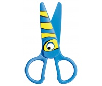 Nożyczki szkolne KEYROAD Kids Pro, 13cm, bezpieczne, pakowane na displayu, mix kolorów, Nożyczki, Drobne akcesoria biurowe