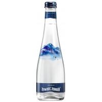 Woda ŻYWIEC ZDRÓJ, gazowana, butelka szklana, 0,3l, Woda, Artykuły spożywcze