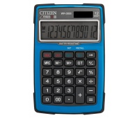 Kalkulator wodoodporny CITIZEN WR-3000, 152x105mm, niebieski, Kalkulatory, Urządzenia i maszyny biurowe