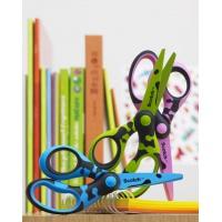 nożyczki, szkolne, bezpieczne, dzieci, biurowe, tytanowe, leworęcznych, kolory, odbojnikiem, zaokrąglone, dekoracyjne, praworęcz, ergonomiczne, kreatywne, gumowym, uchwytem, przedszkolne