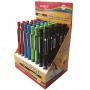 Ołówek automatyczny KEYROAD Soft Touch, 2,0mm, pakowany na displayu, mix kolorów