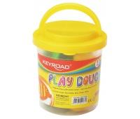 Ciastolina KEYROAD, 5szt., z foremkami, mix kolorów, Produkty kreatywne, Artykuły szkolne