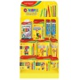 Mały display KEYROAD Colorful World, karton, składany, bez wyposażenia, żółty
