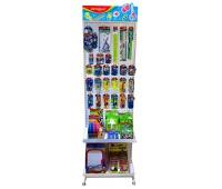 Mały display KEYROAD, metal, bez wyposażenia, biały, Nietypowe, Artykuły szkolne