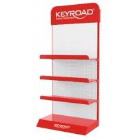 Duży display KEYROAD, metal, bez wyposażenia, czerwony, Nietypowe, Artykuły szkolne