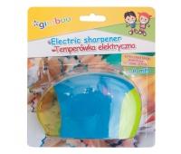 Temperówka elektryczna GIMBOO, pojedyncza, blister, mix kolorów, Temperówki, Artykuły do pisania i korygowania