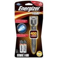 Latarka ENERGIZER Metal Vision Focus HD + 2szt. baterii AA, srebrna, Latarki, Urządzenia i maszyny biurowe