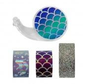ZESTAW TAŚMY TYPU WASHI 3SZT., Produkty kreatywne, Artykuły dekoracyjne
