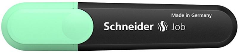 Zakreślacz SCHNEIDER Job Pastel, 1-5mm, miętowy, Textmarkery, Artykuły do pisania i korygowania