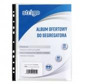 ALBUM OFERTOWY DO SEGREGATORA PP 20 KOSZULEK A4, Albumy, Archiwizacja dokumentów