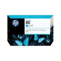 Głowica + gniazdo czyszczące HP 80 cyan, Tusze, Materiały eksploatacyjne