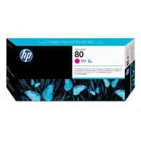 Głowica + gniazdo czyszczące HP 80 magenta, Tusze, Materiały eksploatacyjne