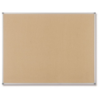 Tablica korkowa NOBO Classic, 150x120cm, rama aluminiowa, Tablice korkowe, Prezentacja