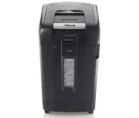 Niszczarka automatyczna REXEL Auto+ 750X, konfetti, P-4, 750 kart., 115l, karty kredytowe/CD, czarna, Niszczarki, Urządzenia i maszyny biurowe