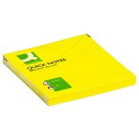 Bloczek samoprzylepny Q-CONNECT Brilliant, 76x76mm, 1x75 kart., żółty