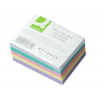 Wkład do przybornika na długopisy Q-CONNECT, KF15852, KF15853), mix kolorów, Przyborniki na biurko, Drobne akcesoria biurowe