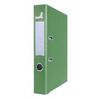 Segregator Q-CONNECT Hero z szyną, PP, A4/55mm, zielony, Segregatory polipropylenowe, Archiwizacja dokumentów