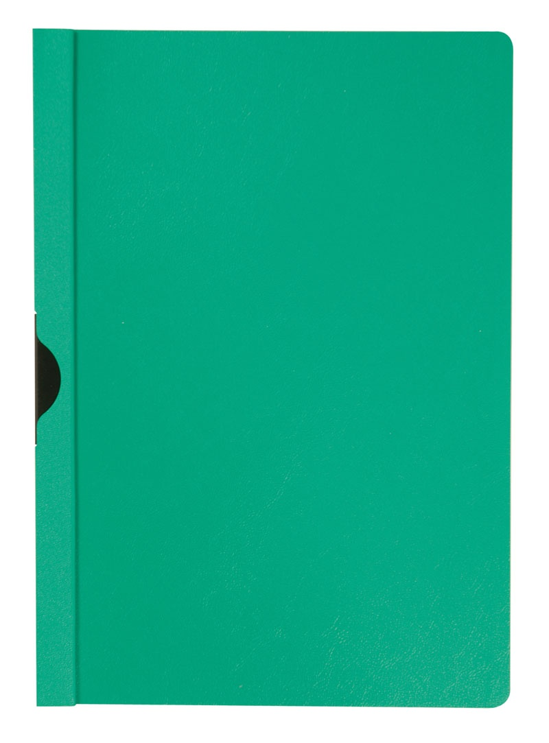 Skoroszyt Q-CONNECT z metalowym klipsem, PP, A4, 200/350mikr., zielony, Skoroszyty pozostałe, Archiwizacja dokumentów