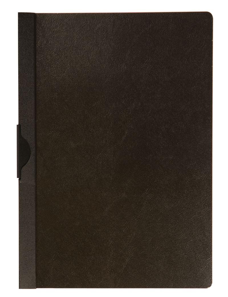 Skoroszyt Q-CONNECT z metalowym klipsem, PP, A4, 200/350mikr., czarny, Skoroszyty pozostałe, Archiwizacja dokumentów