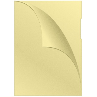 Obwoluta Q-CONNECT typu L, PP, A4, groszkowa, 120mikr., 100szt., żółta, Koszulki i obwoluty, Archiwizacja dokumentów