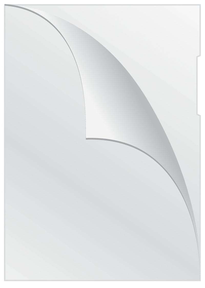 Obwoluta Q-CONNECT typu L, PP, A4, krystal, 160mikr., 100szt., transparentna, Koszulki i obwoluty, Archiwizacja dokumentów