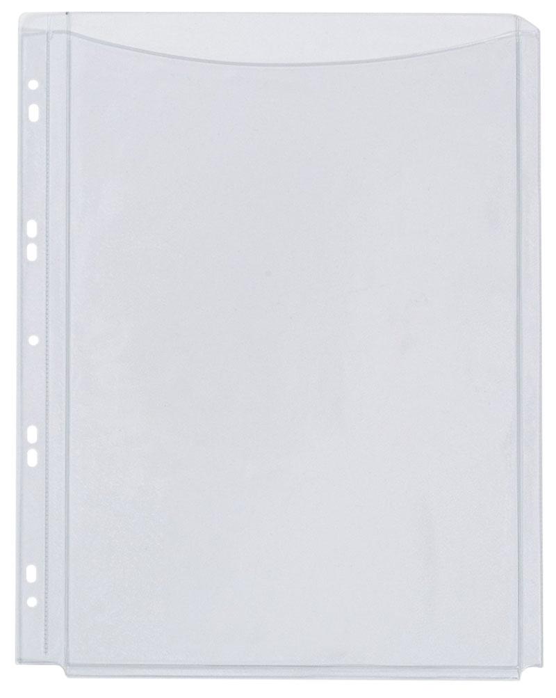 Koszulki na katalogi Q-CONNECT, PVC, A4, krystal, 180mikr., 5szt., Koszulki i obwoluty, Archiwizacja dokumentów
