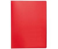 Teczka ofertowa Q-CONNECT, PP, A4, 380mikr., 10 koszulek, czerwona, Teczki ofertowe, Archiwizacja dokumentów