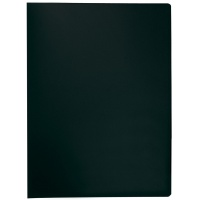 Display Book Q-CONNECT, PP, A4, 380 micron, 10 pockets, black